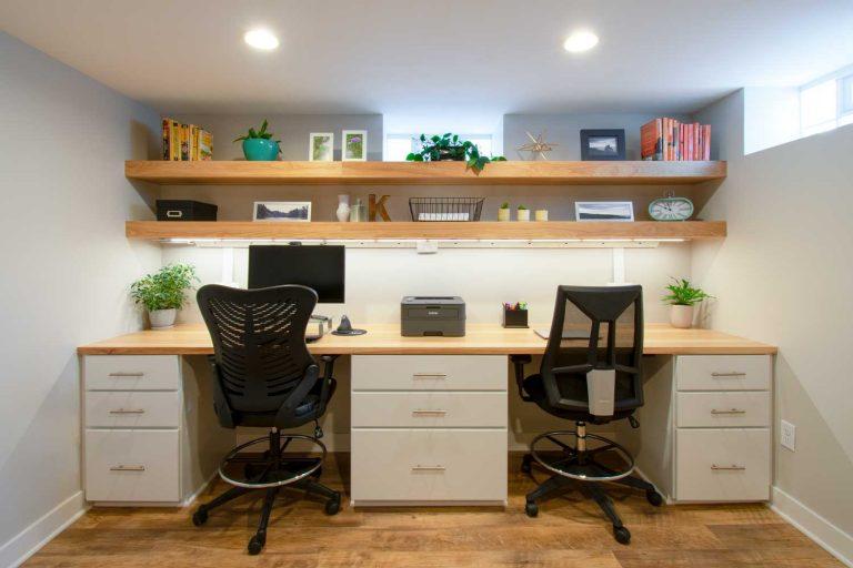 Wauwatosa basement home office