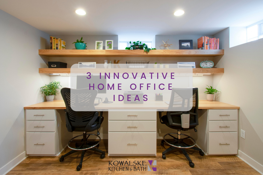 3 Innovative Home Office Ideas You Can Use Now