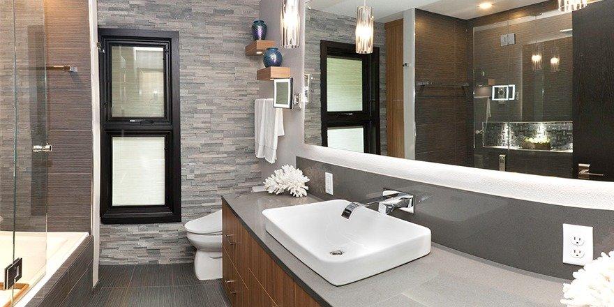 Contemporary Brookfield Bathroom