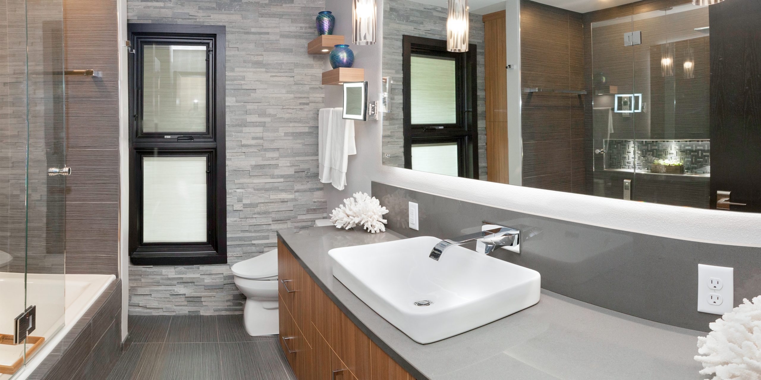 Contemporary Brookfield Bathroom