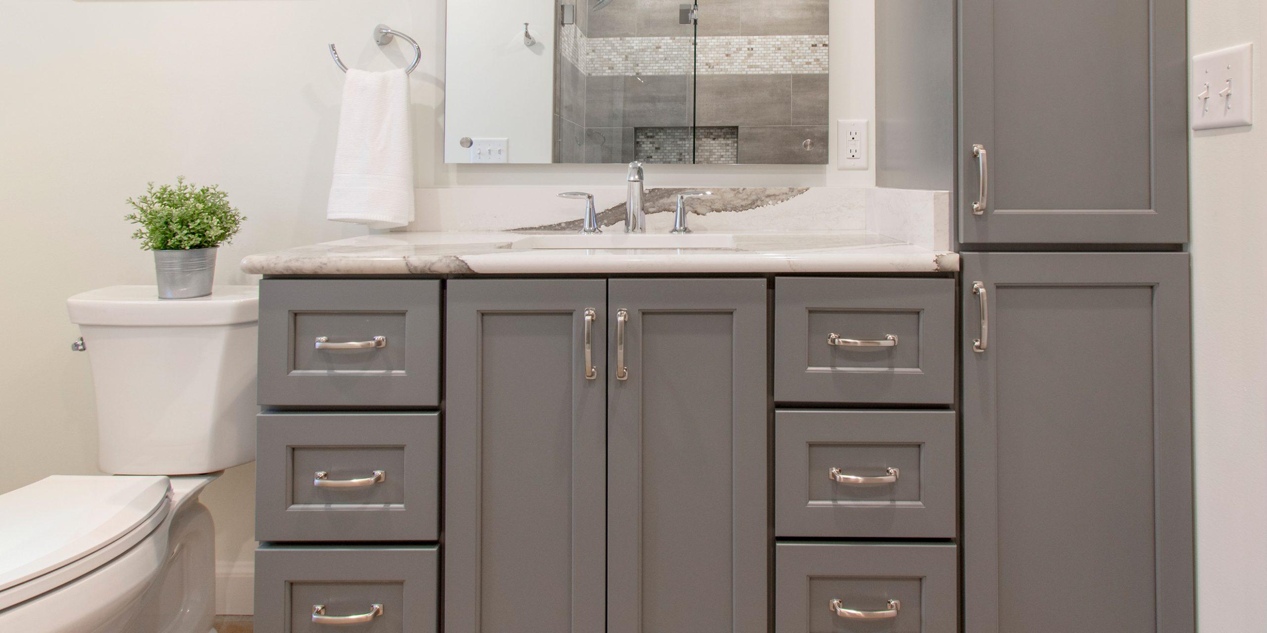 Sharp & Stylish Wauwatosa Bathroom