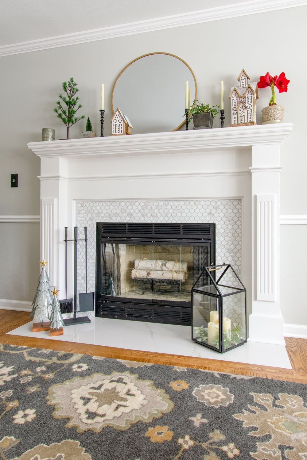 Classic Delafield kitchen and fireplace remodel