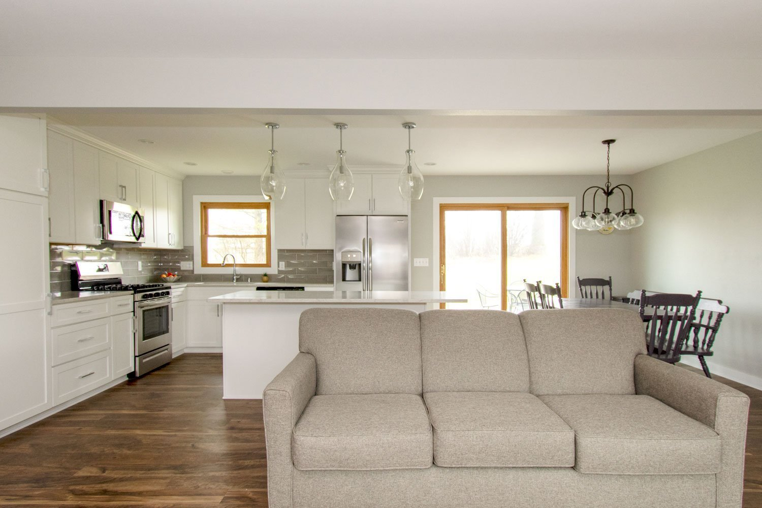 Hartland open concept kitchen remodel