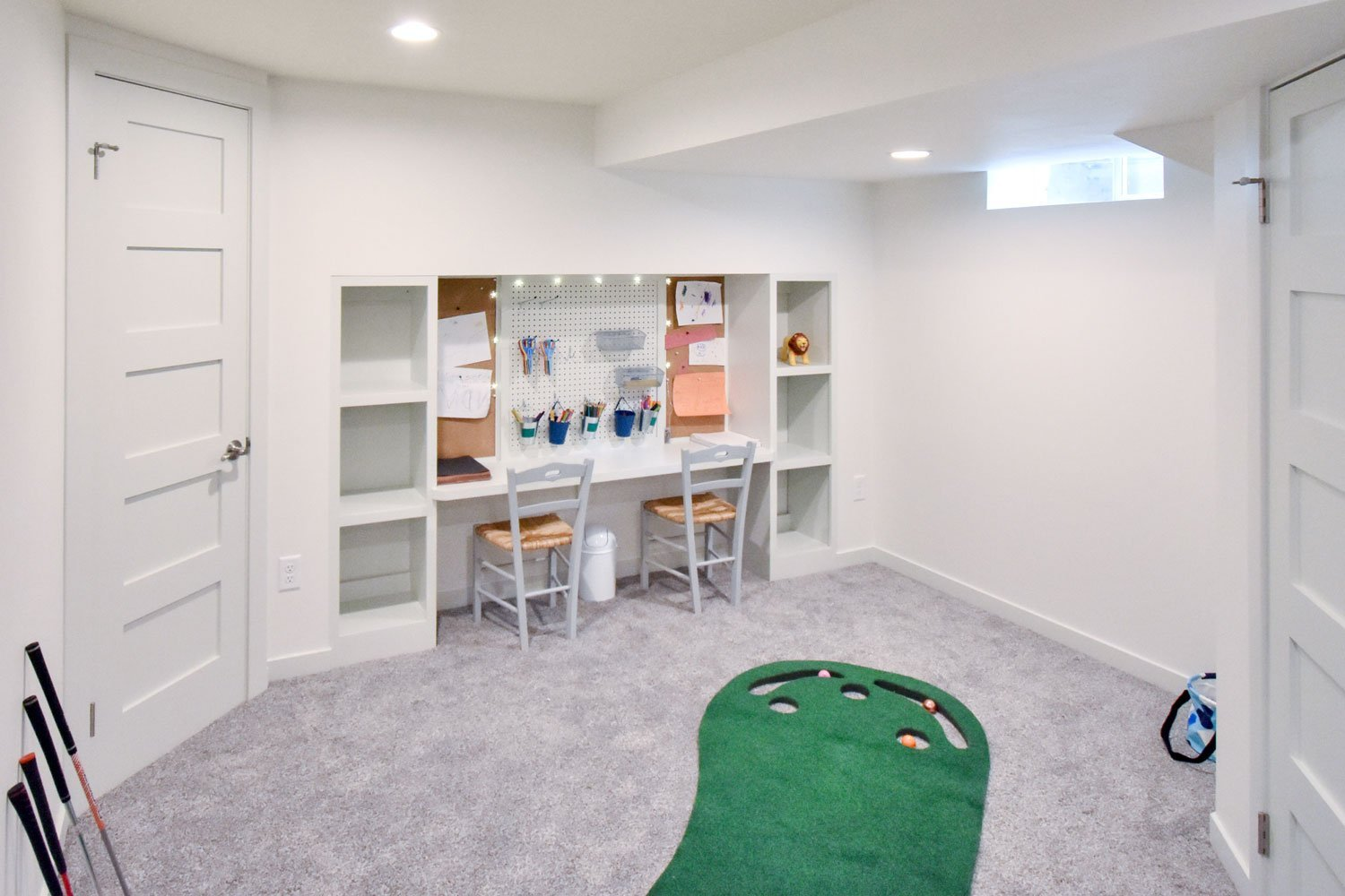 basement kids playroom