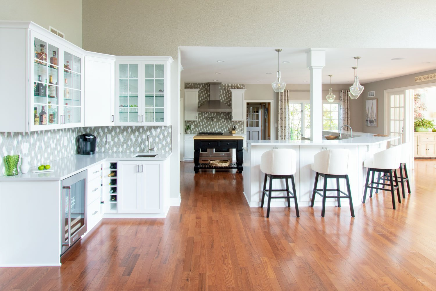 Kowalske Pewaukee Whole House open concept Kitchen Remodel