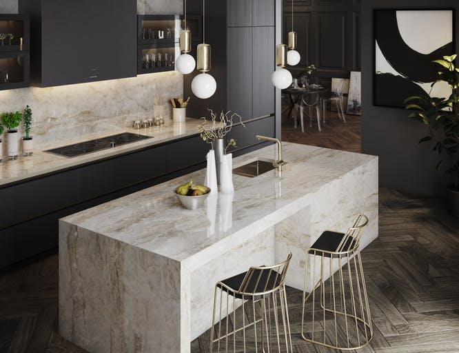dekton ultra compact kitchen counter