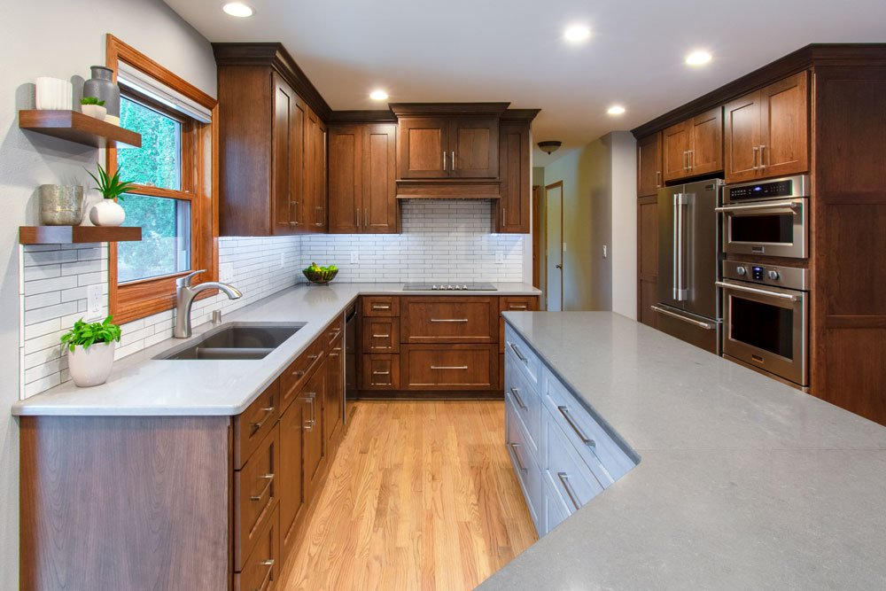 quartz kitchen counters