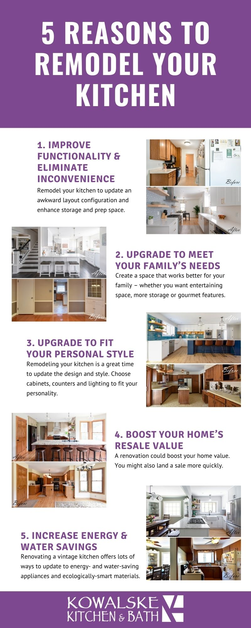 reasons to remodel kitchen