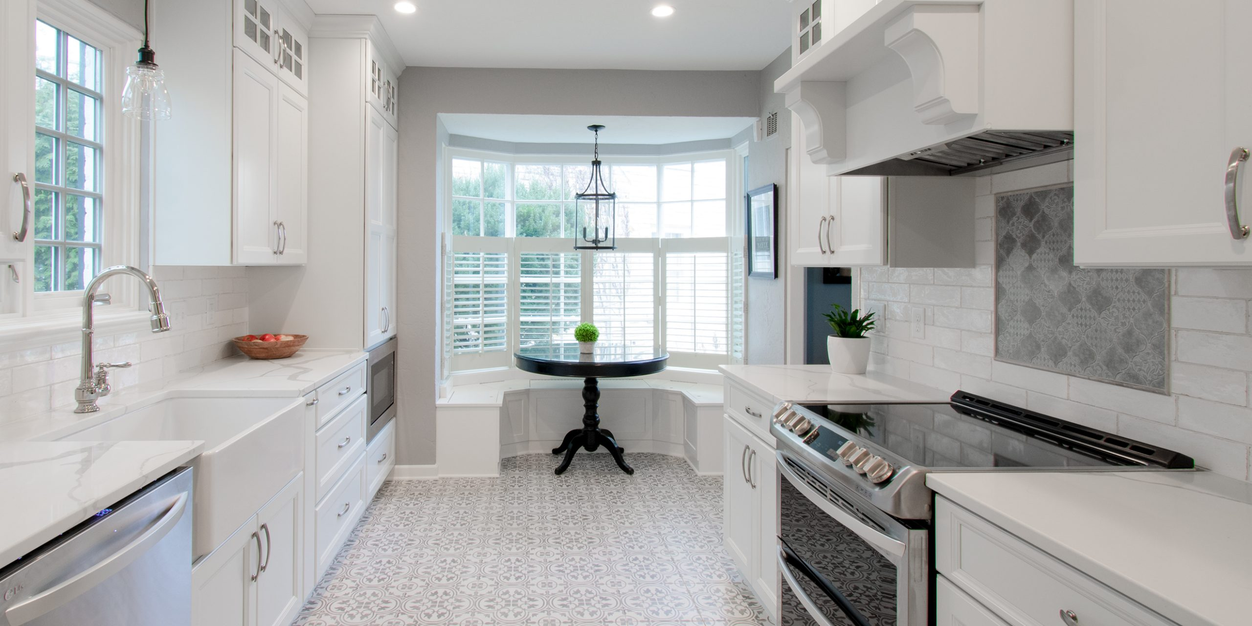 Wauwatosa Traditional White Kitchen Remodel