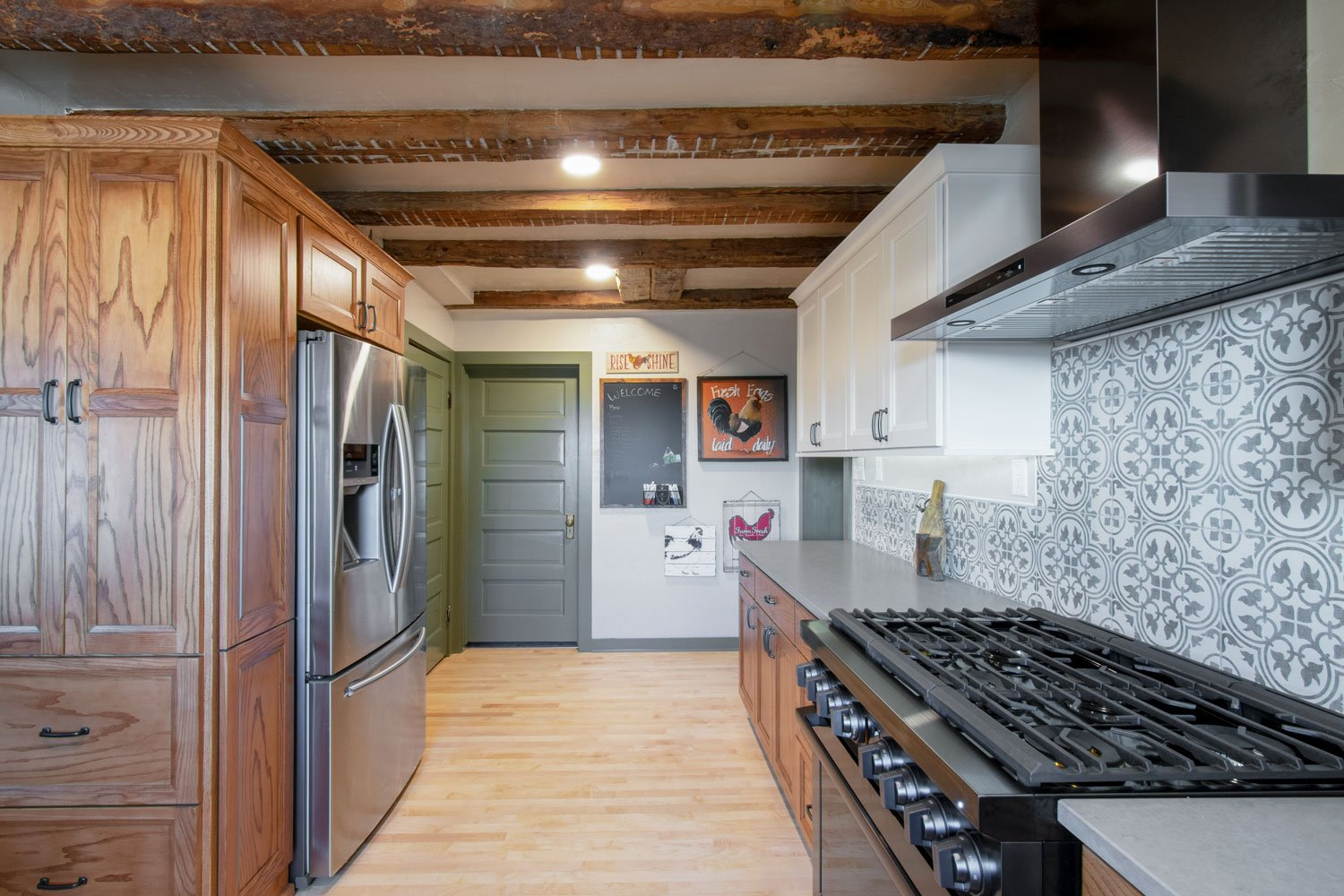 Wisconsin farmhouse kitchen