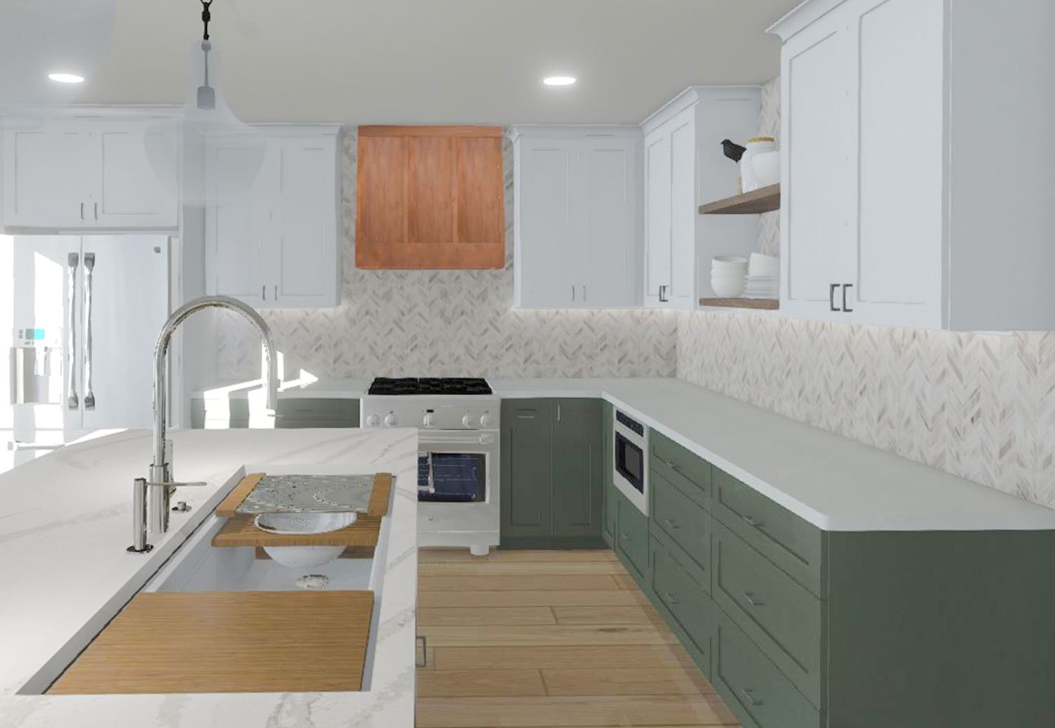 custom cabinetry kitchen