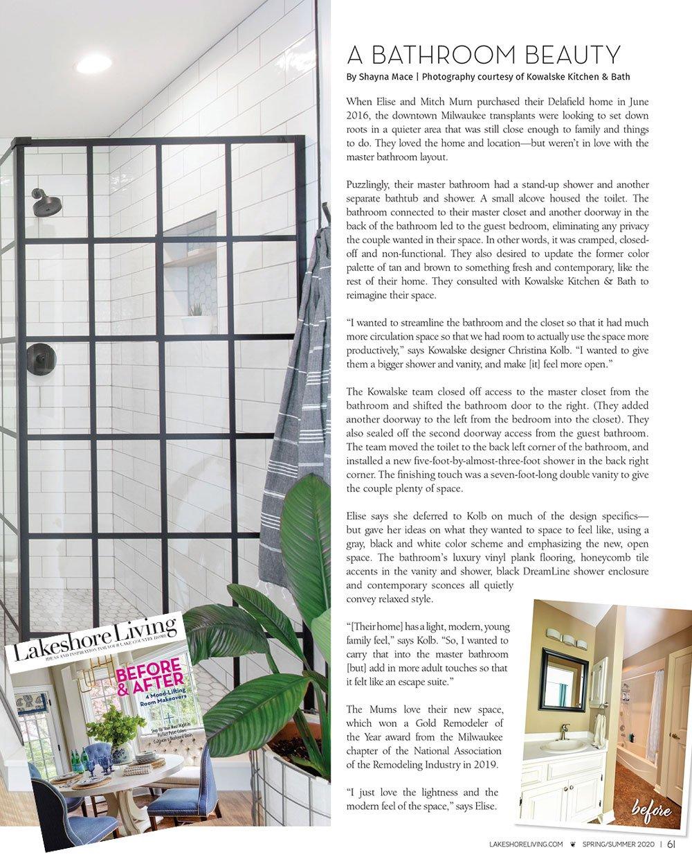 Lakeshore Living Magazine