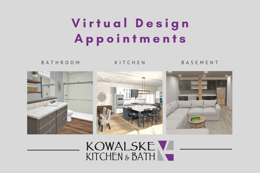 Virtual Design for Your Remodel: Start Your Remodeling Project from Home