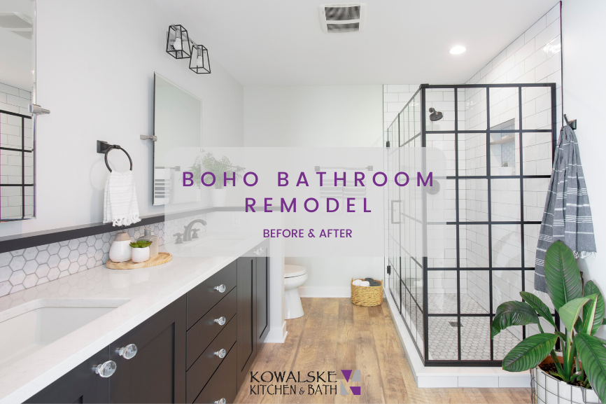 Boho Bathroom Remodel: Before & After
