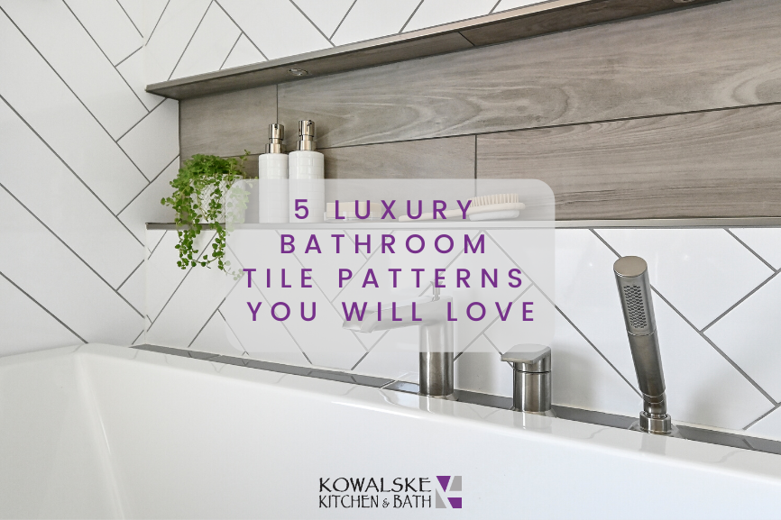 5 Luxury Bathroom Tile Patterns You Will Love