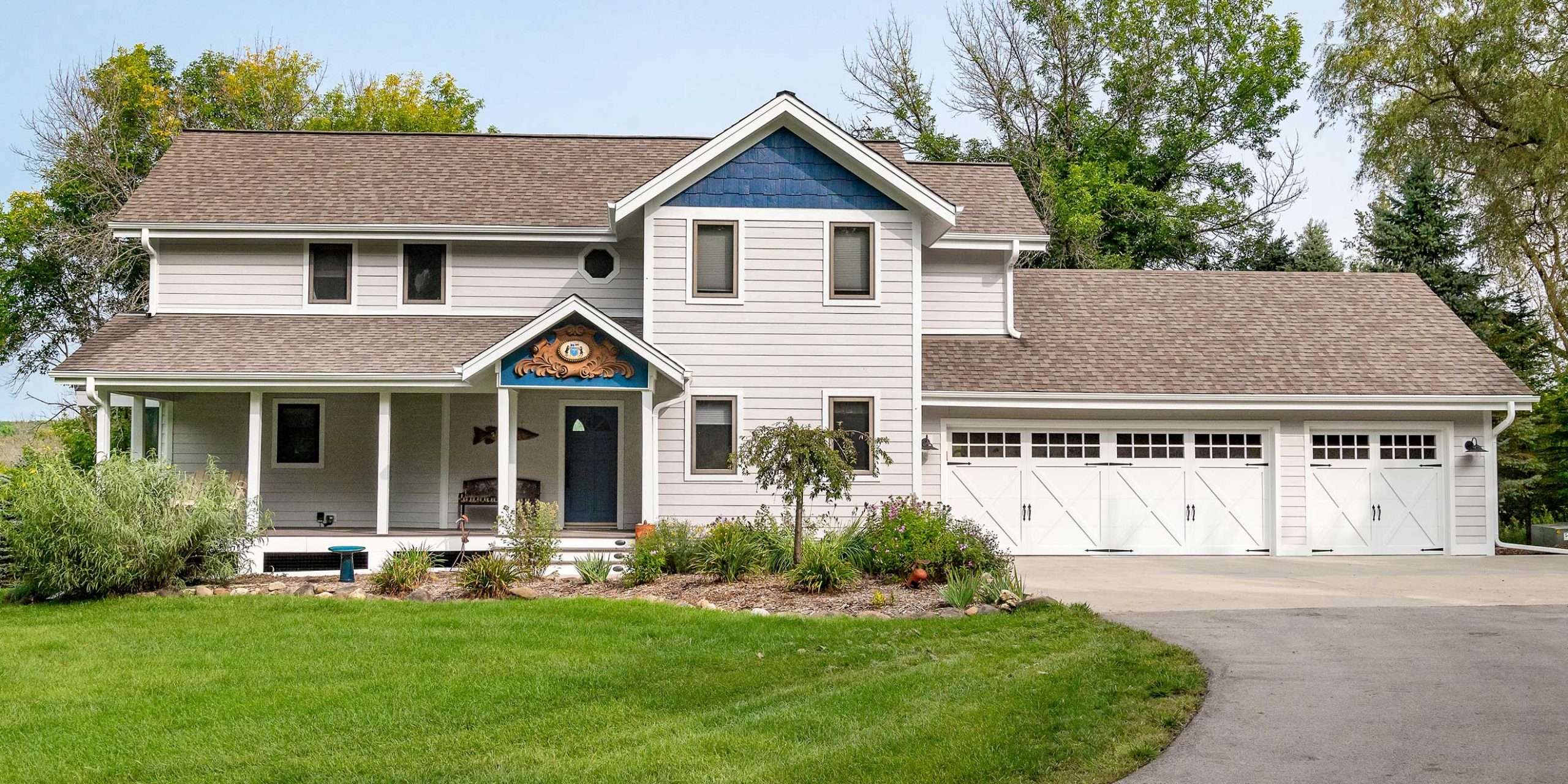 Hubertus Home Exterior Update