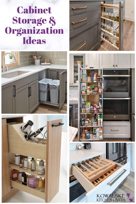 kitchen storage organizers