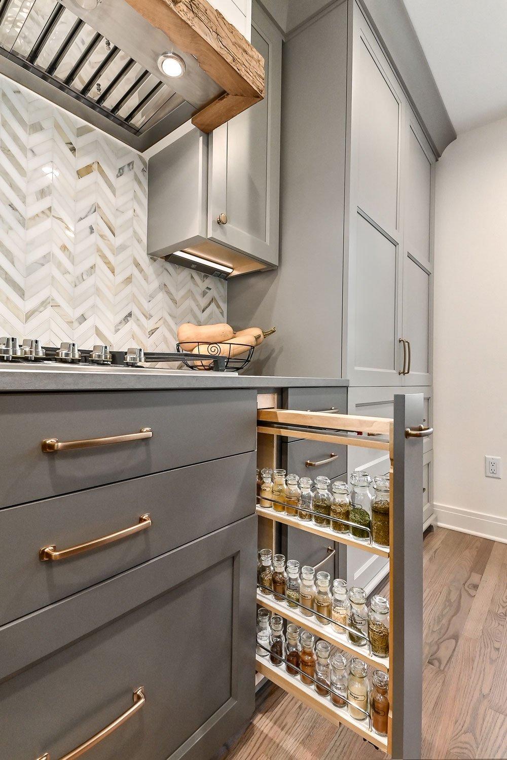 kitchen storage oganizers