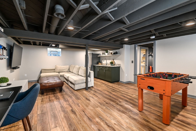 Wauwatosa basement