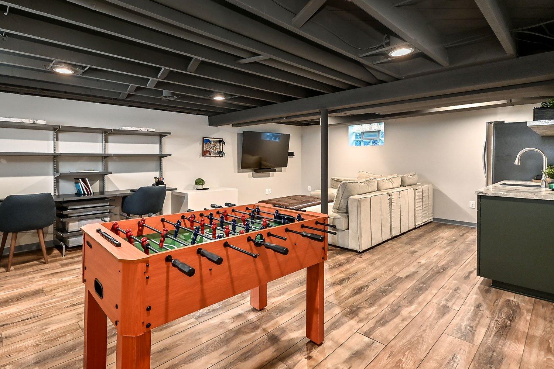 Wauwatosa basement remodel