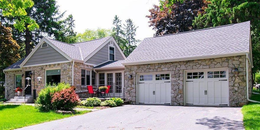 Delafield cottage exterior