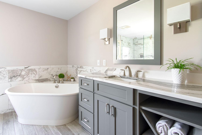 Brookfield master bathroom