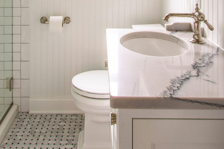 Delafield cottage master bathroom remodel