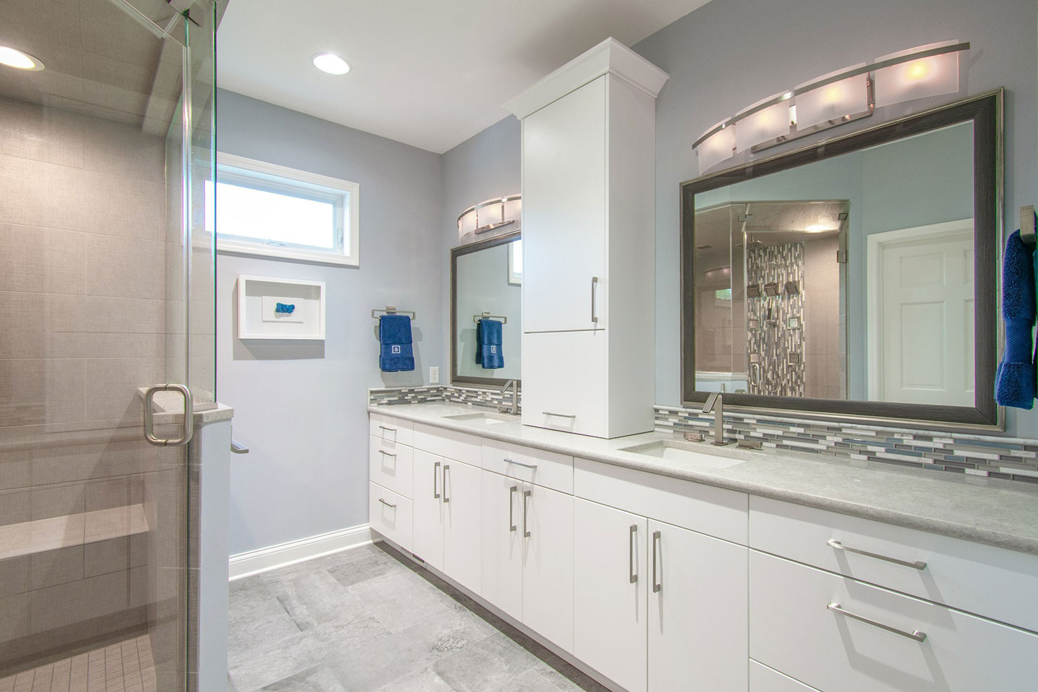 Nashotah spa-like master bathroom