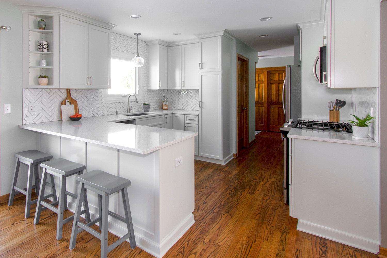 Waukesha white kitchen