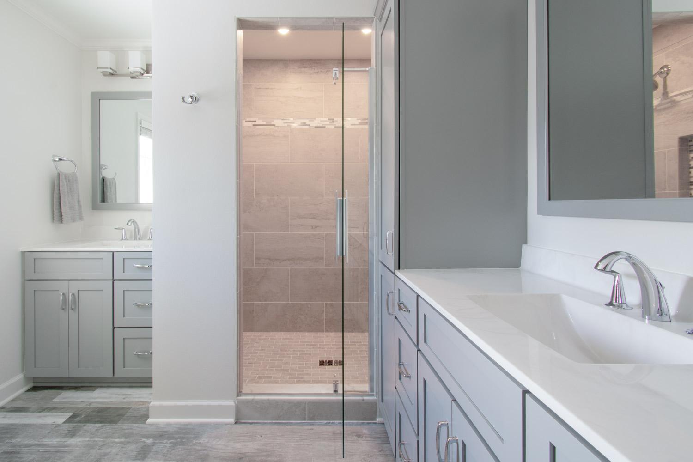 Brookfield master bathroom remodel