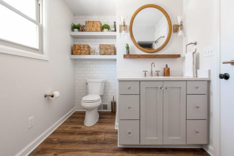 Wauwatosa bathroom remodel