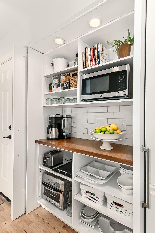 appliance closet